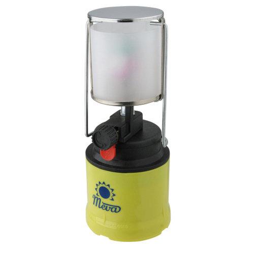 Zelená plynová lampa