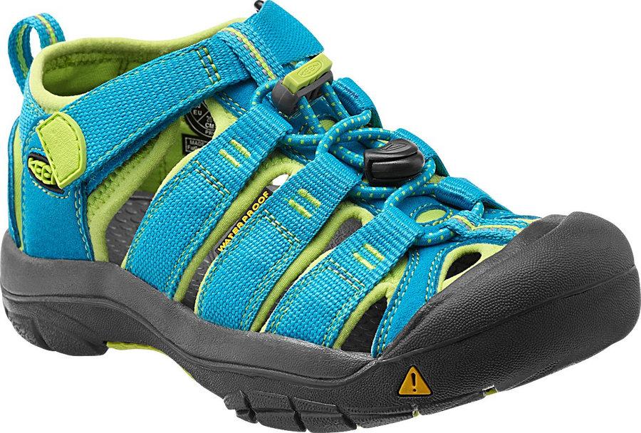 Modré dětské sandály Keen