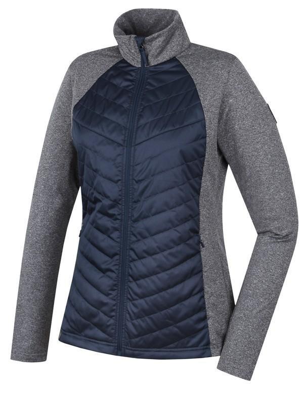 Modro-šedá dámská bunda na běžky Hannah