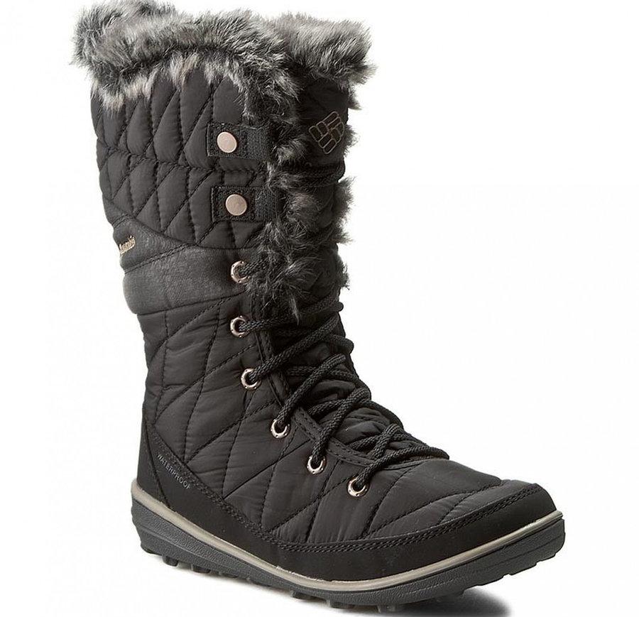 Černé dámské zimní boty Columbia