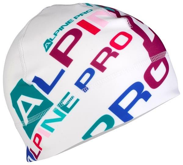 Bílá běžecká čepice Alpine Pro