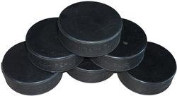 Černý hokejový puk Bosport