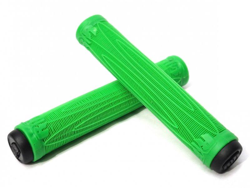 Zelené gripy na koloběžku Raptor - délka 18 cm