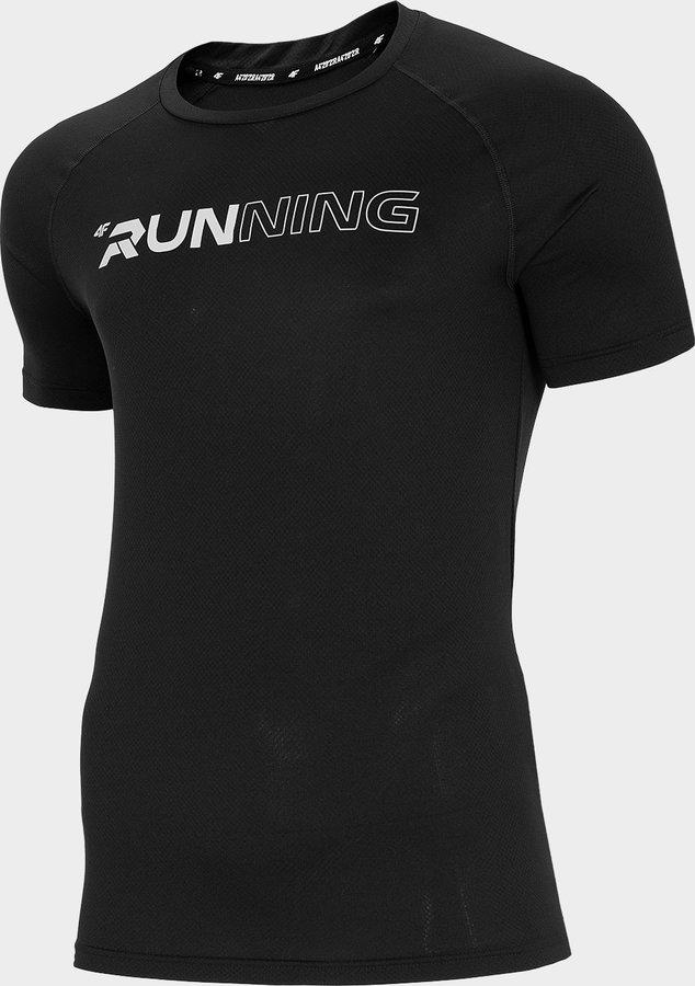 Černé pánské běžecké tričko 4F