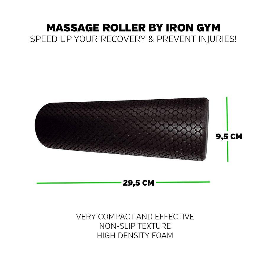 Masážní válec Iron Gym - průměr 9,5 cm a délka 29,5 cm