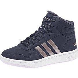 Modré dětské zimní boty Adidas - velikost 36 2/3 EU