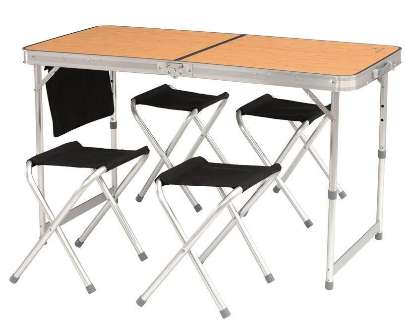 Kempingová sada nábytku - Set stolu a židliček Easy Camp Belfort Picnic Table