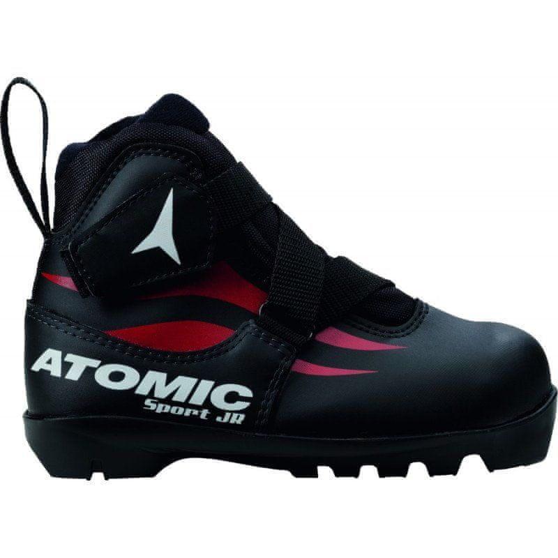 Černé dětské boty na běžky Atomic