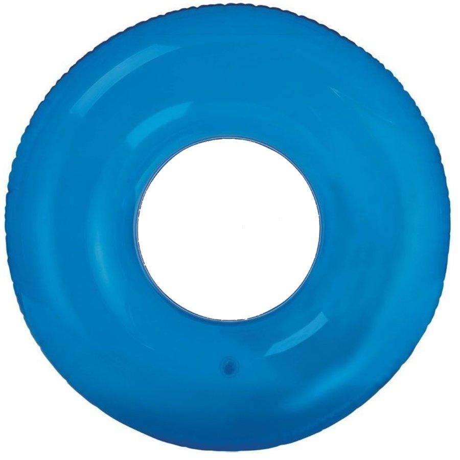 Modrý dětský nafukovací kruh INTEX - průměr 76 cm