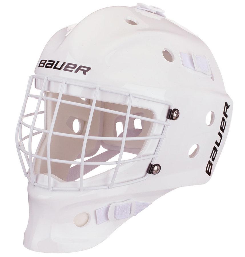 Brankářská maska - Brankářská maska Bauer NME Street Youth White Barva: bílá