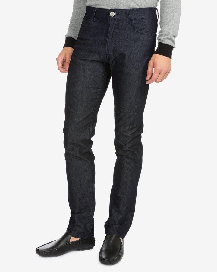 Modré pánské džíny Trussardi Jeans