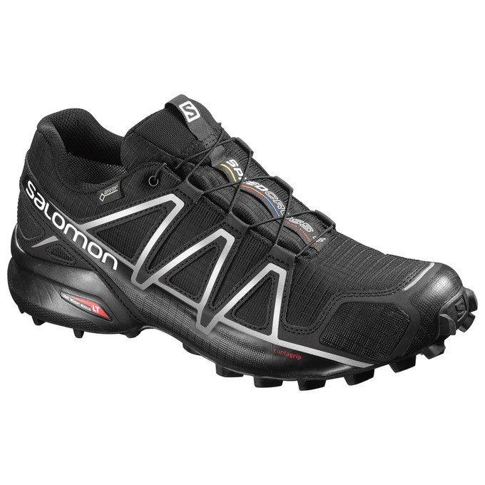 Černé pánské běžecké boty Salomon