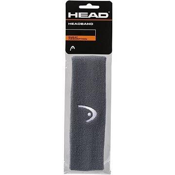 Černá tenisová čelenka Head