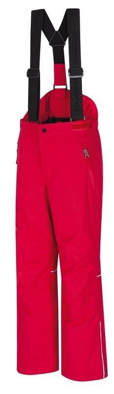 Červené dětské lyžařské kalhoty Hannah - velikost 140