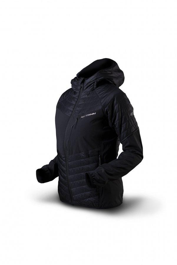 Černá zimní dámská bunda s kapucí Trimm