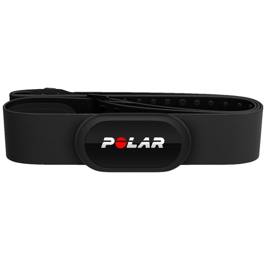 Černý hrudní pás na baterie Polar