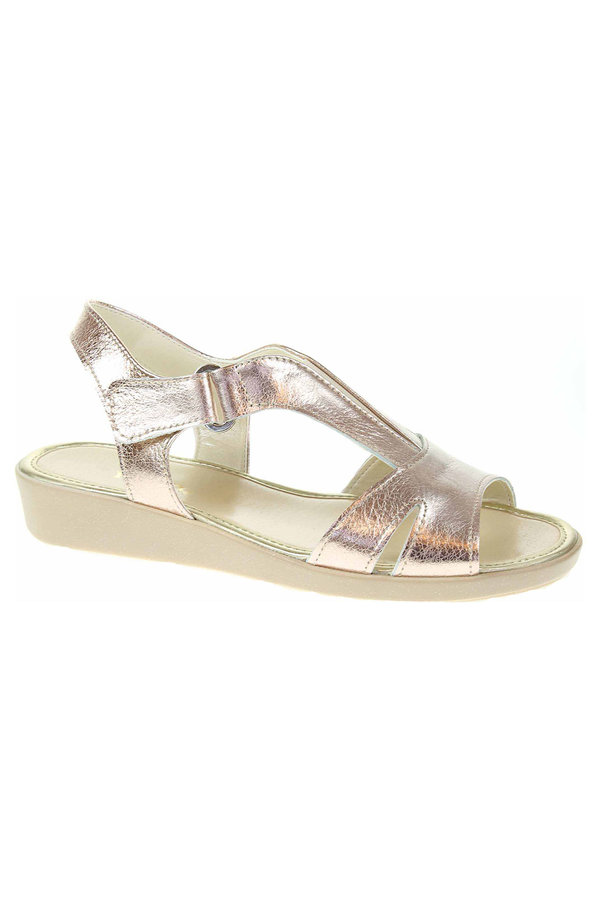 Zlaté sandály Rejnok Dovoz