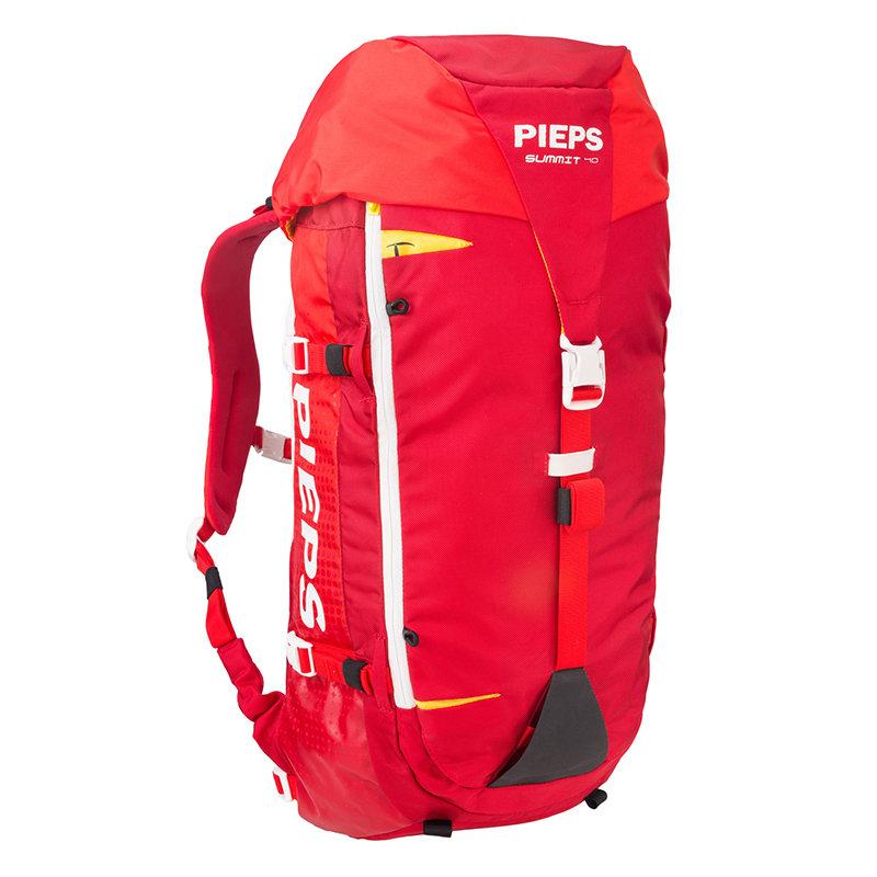 Červený skialpový batoh Pieps - objem 40 l
