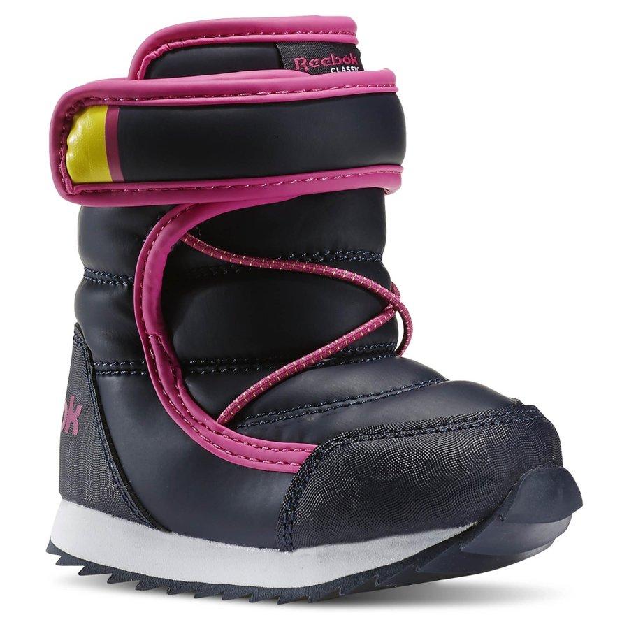 Černé dětské dívčí kotníkové boty Reebok - velikost 19,5 EU