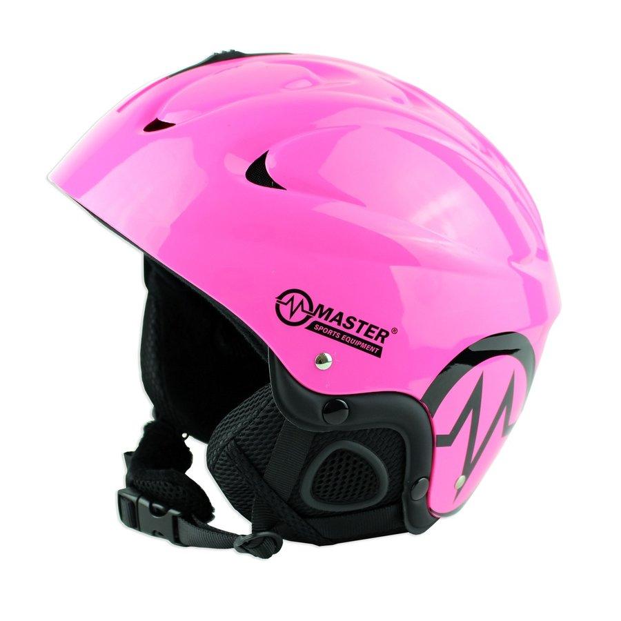 Růžová lyžařská helma Freeze, Master
