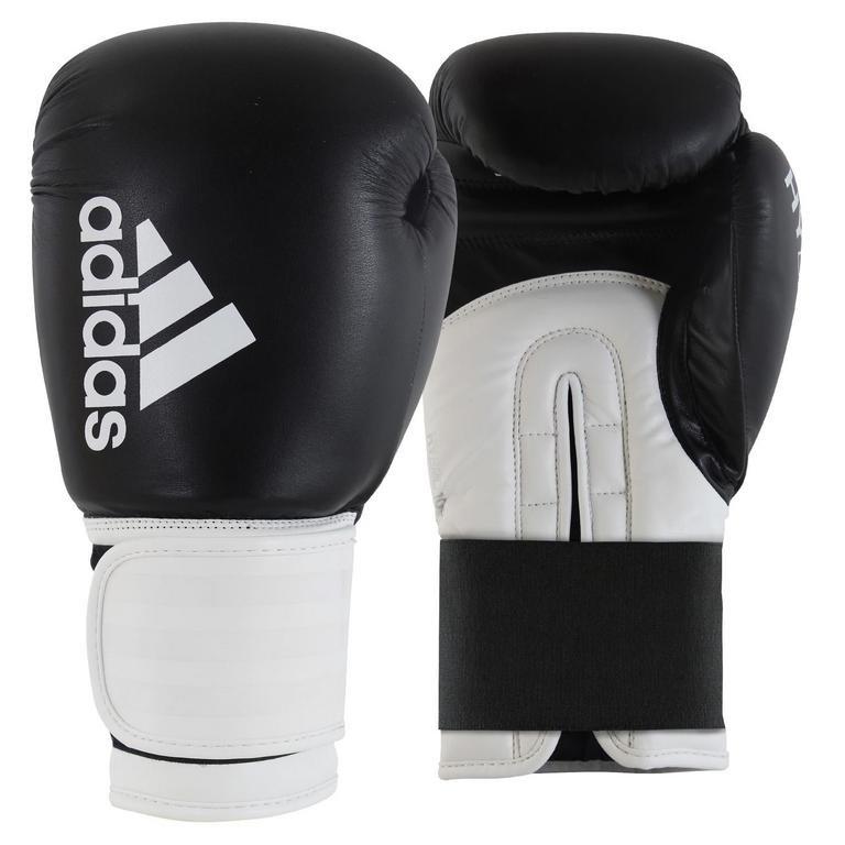 Bílo-černé boxerské rukavice Adidas