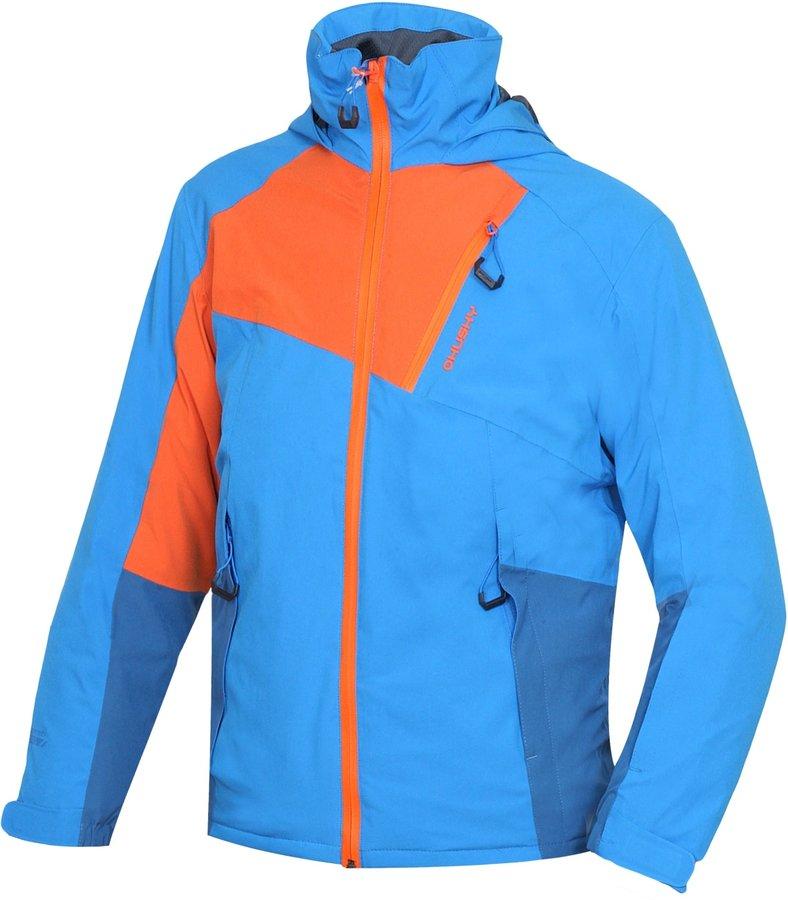 Modrá dětská lyžařská bunda Husky - velikost 140