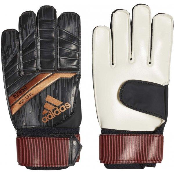 Černé pánské brankářské fotbalové rukavice Adidas