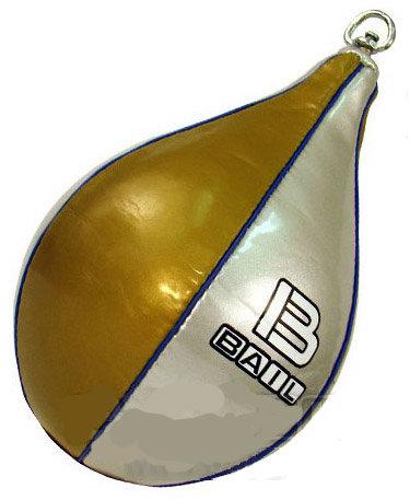 Stříbrno-zlatá závěsná boxovací hruška Bail