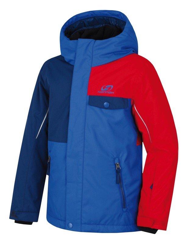 Modrá dětská lyžařská bunda Hannah - velikost 140