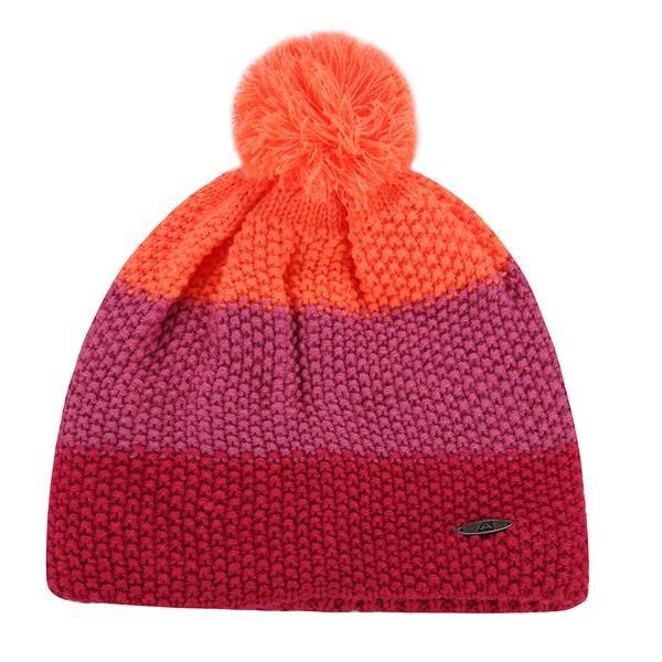 Červená dětská zimní čepice Alpine Pro - univerzální velikost