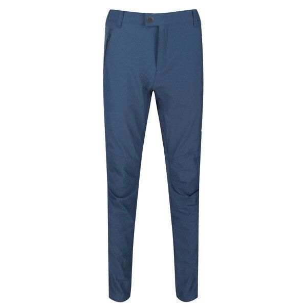 Modré pánské turistické kalhoty Regatta