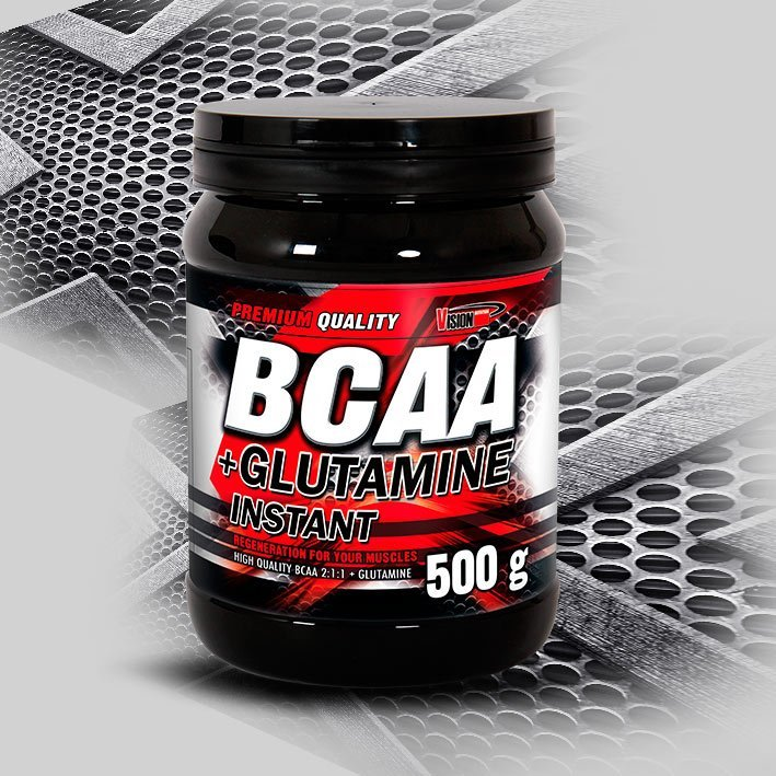 BCAA - BCAA + Glutamine Instant od Vision Nutrition 500 g Raspberry