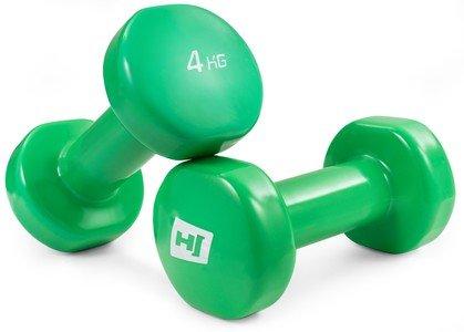 Jednoruční činka Hop-Sport - 4 kg - 2 ks