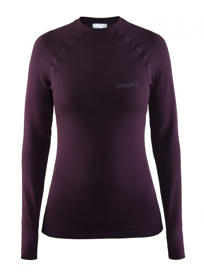 Fialové dámské funkční tričko s dlouhým rukávem Craft - velikost S