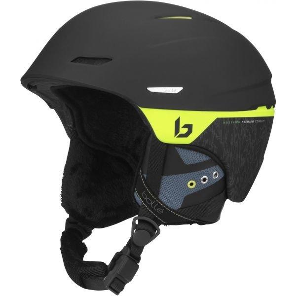 Černá lyžařská helma Bollé - velikost 61-63 cm
