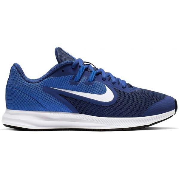 Modré dětské běžecké boty Nike
