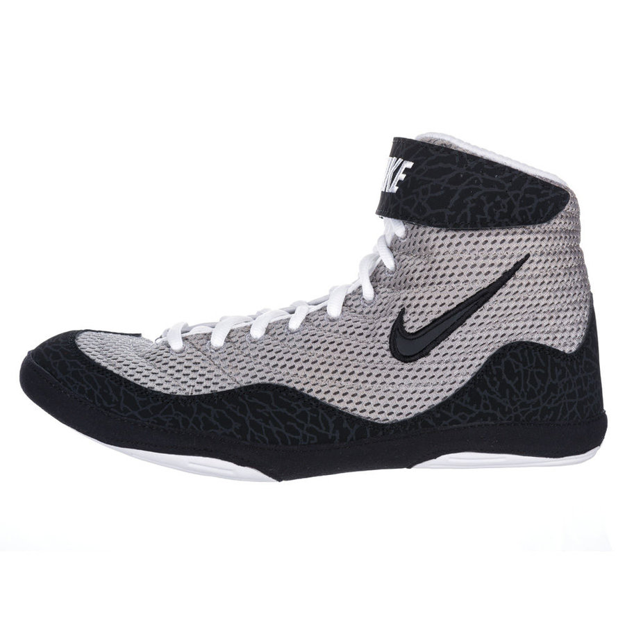 Šedé boxerské boty Inflict Wrestling, Nike - velikost 39 EU