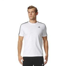 Bílé pánské tričko s krátkým rukávem Adidas - velikost L