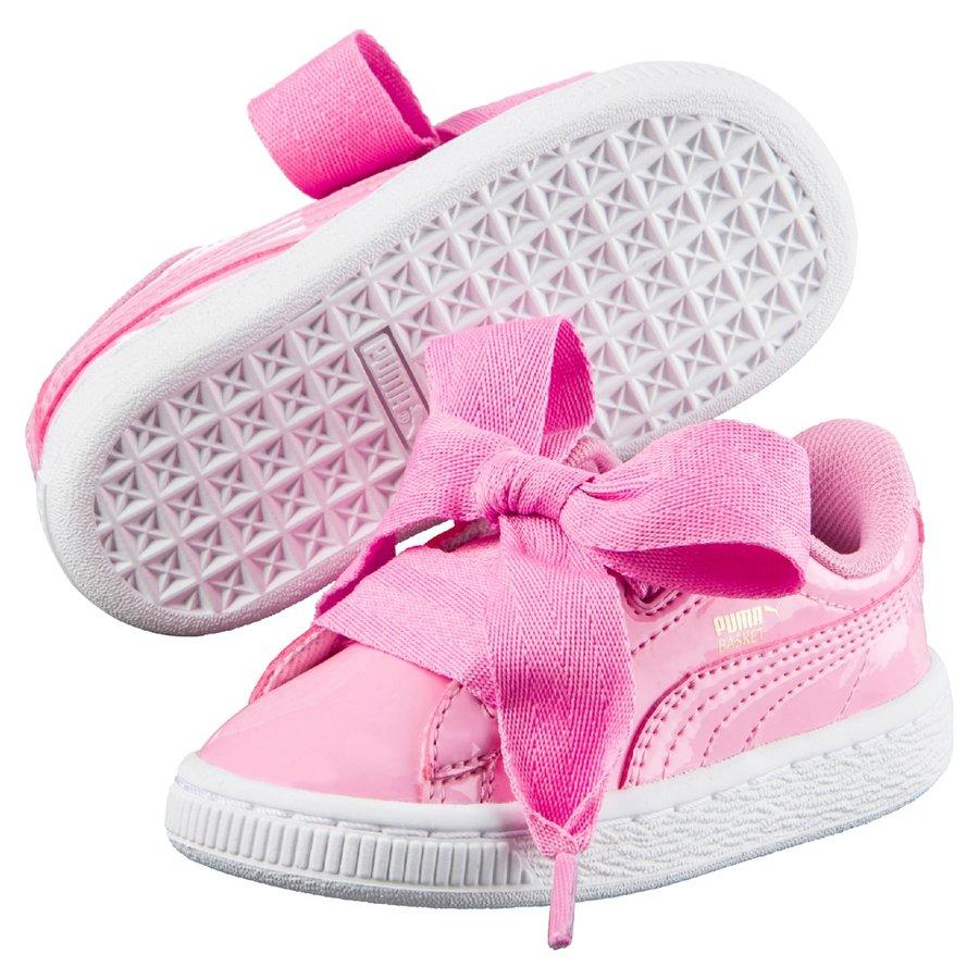 Růžové dětské tenisky Puma - velikost 31,5 EU