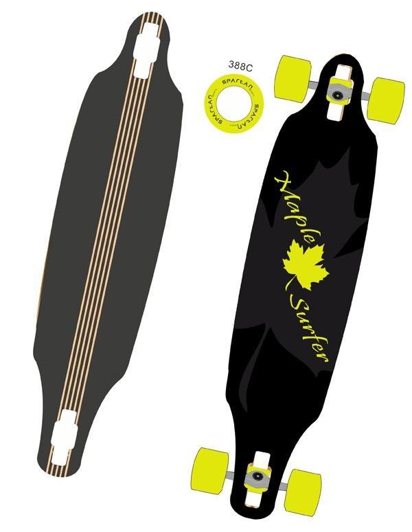 Longboard - Skateboard LONGBOARD MAPLE SURF