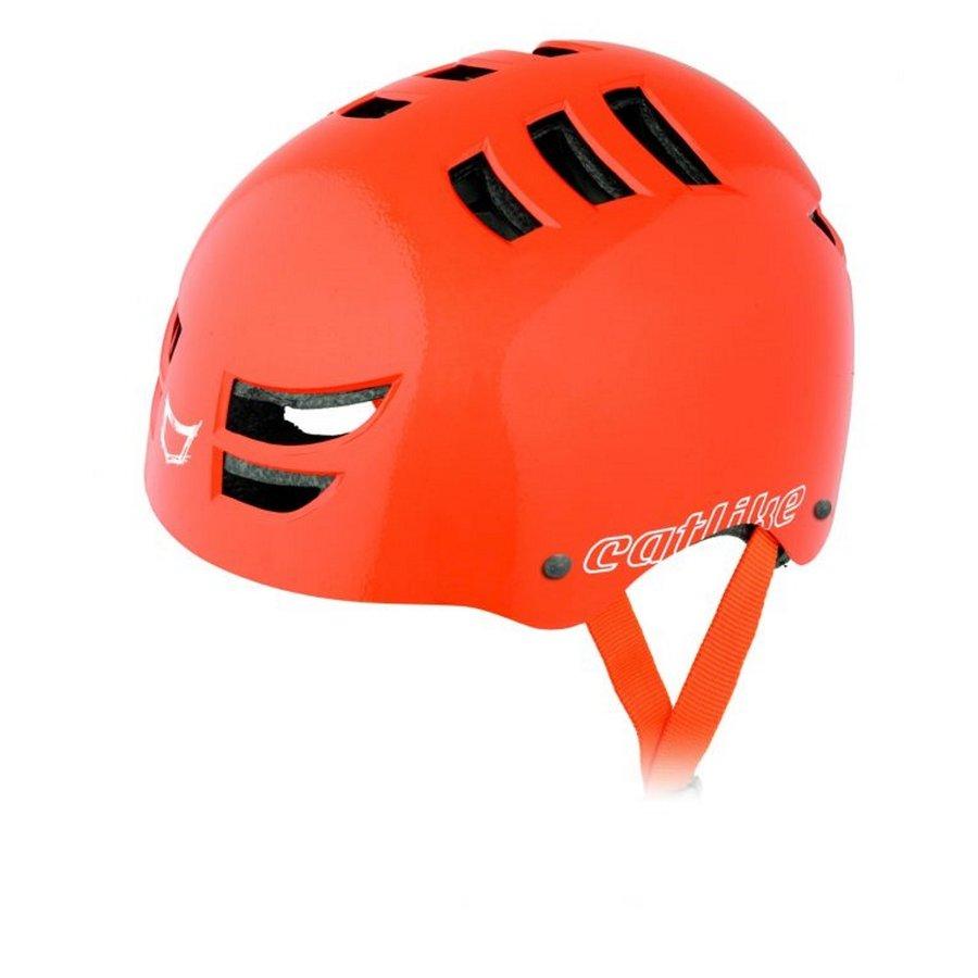 Oranžová cyklistická helma Catlike - velikost 54-58 cm