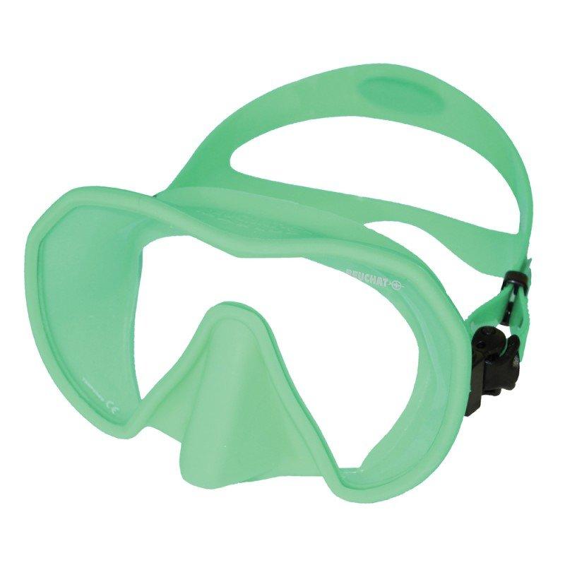 Potápěčská maska - Maska potápěčská (brýle) Maxlux S Beuchat ,hráškově zelená