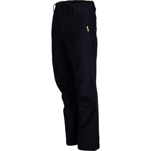 Černé softshellové pánské kalhoty Umbro