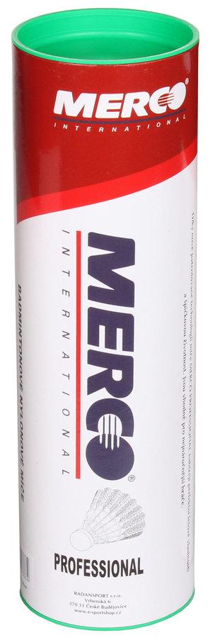 Péřový badmintonový míček Merco - 6 ks