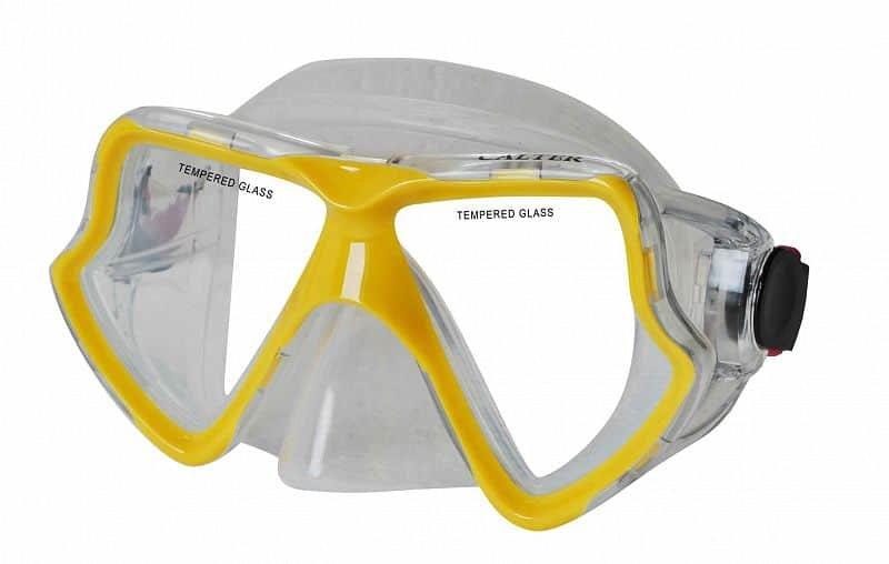 Potápěčská maska - Potápěčská maska CALTER SENIOR 282S, žlutá