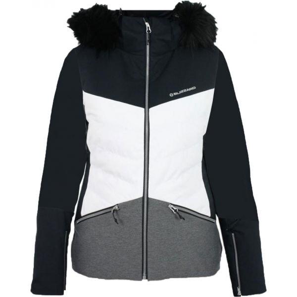 Bílo-černá dámská lyžařská bunda Blizzard - velikost XL