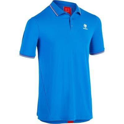 Modré pánské tenisové tričko Artengo - velikost S