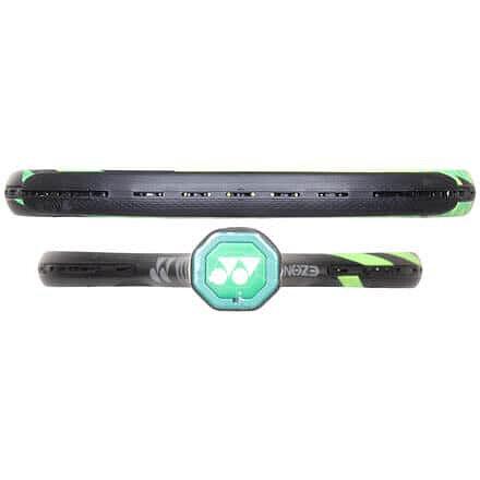 Zelená tenisová raketa Yonex - délka 68,5 cm