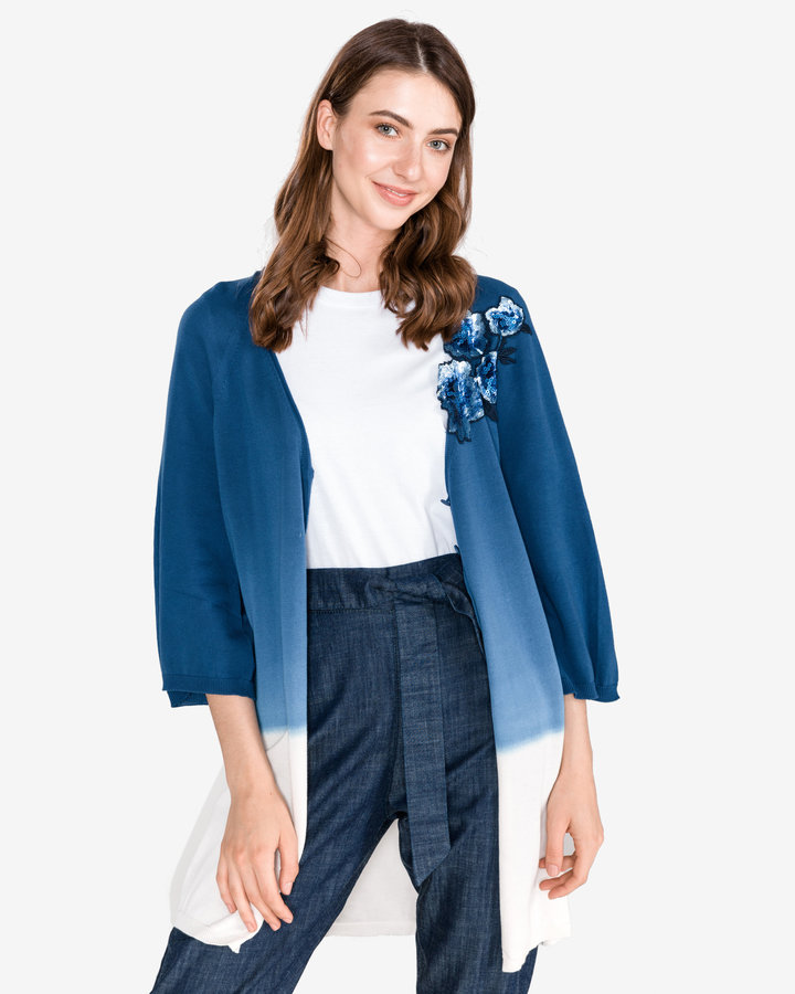 Modrý dámský svetr Twinset