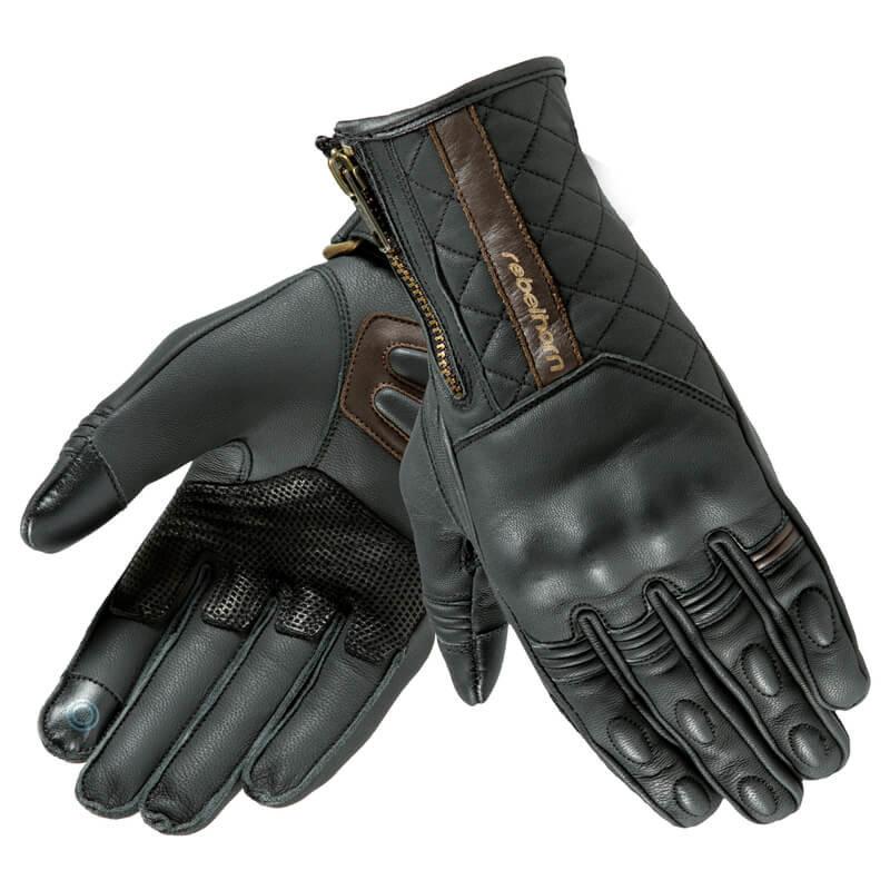 Letní rukavice na motorku Opium II Retro Lady CE, Rebelhorn